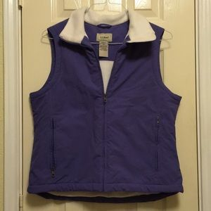 Purple L.L. Bean Vest